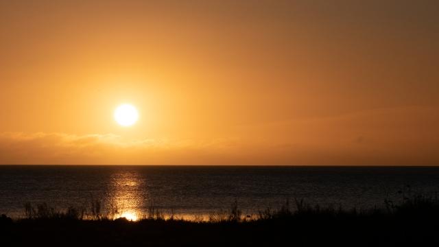 Sonnenuntergang auf Öland, Schweden