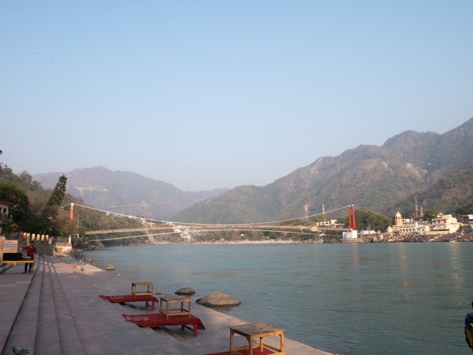 Ganges in Rishikesh