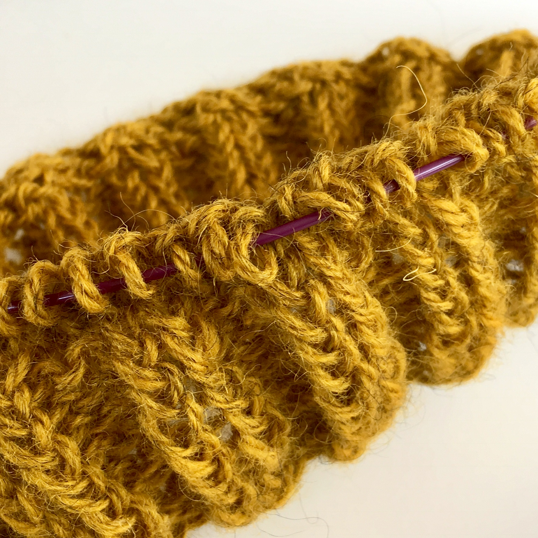 Mein Strickprojekt mit Öland-Wolle