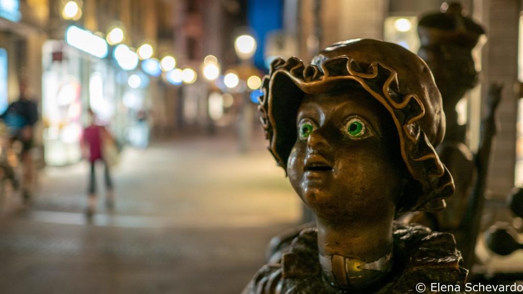 Puppe des Aachener Puppenbrunnens